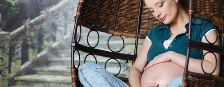 gravid kvinde